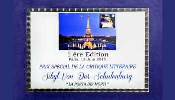 A Sibyl von der Schulenburg il World Literary Prize 2015