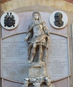 Statua Johann Matthias von der Schulenburg