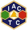 Logo dell'Associazione Italiana di Chimica Tessile e Coloristica. Immagine tratta dal sito aictc.org