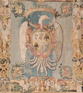 L'arazzo estense. Immagine tratta dal sito museicivici.modena.it